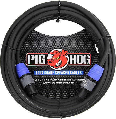 10ft Speaker Cable Speakon to Speakon : PigHog