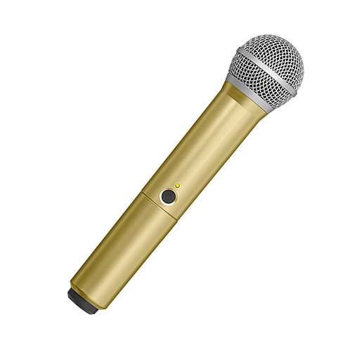WA712-GLD Colored Handle Only for BLX2/PG58 Wireless Transmitters : Shure