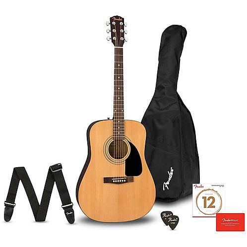 FA-115 Dreadnought Acoustic Guitar Pack : Fender