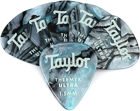 351 Thermex Guitar Picks Abalone 6-Pack : Taylor