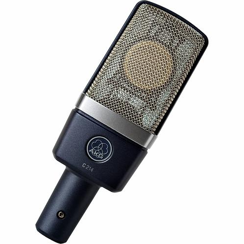 Recording Studio Condenser Microphone w/Case : AKG