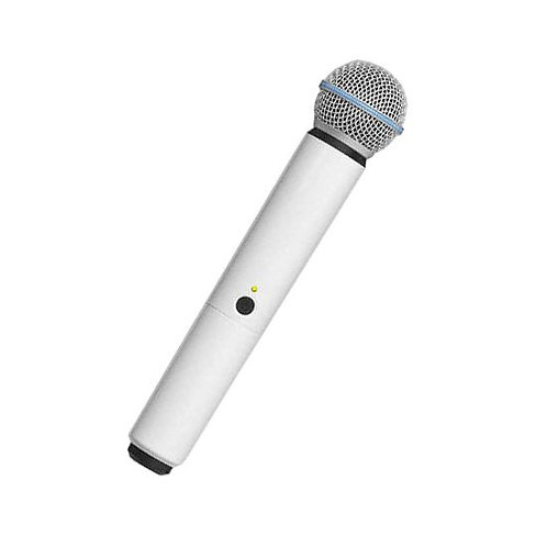 WA713-WHT Color Handle for BLX SM58/BETA58A Microphone : Shur