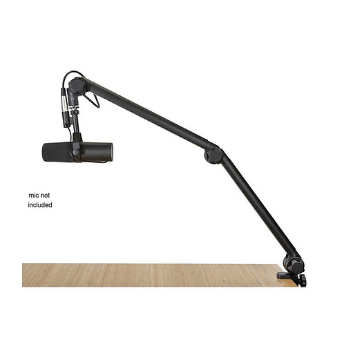 Desktop Mic Boom Stand (Clamp-on) : Gator