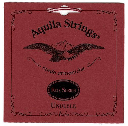 Red Single C String For Concert Ukulele : Aquila