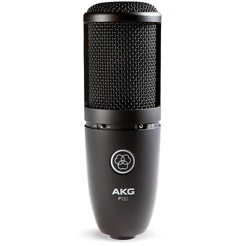 P120 Project Studio Condenser Microphone : AKG