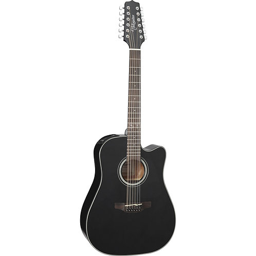 GD30CE-12-BK Dreadnought Cutaway 12-String Acoustic-Electric : Takamine