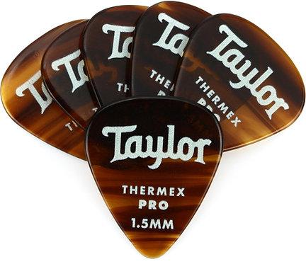 Premium Darktone 351 Thermex Pro Guitar Picks 6-pack 1.50mm : Taylor