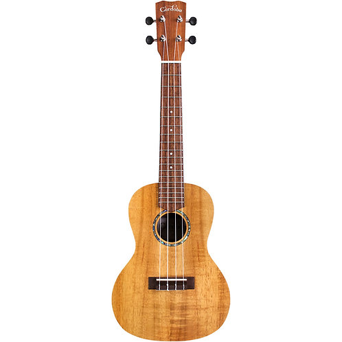 28C Hawaiian Koa Concert Ukulele - Cordoba
