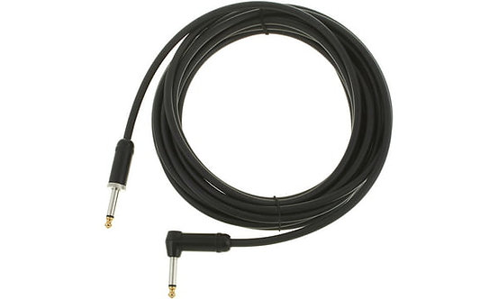 15ft American Stage Instrument Cable Right Angle : D'addario