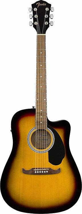 FA-125CE-SB Dreadnought Acoustic-Electric : Fender