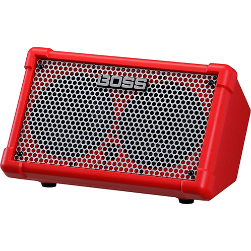 Cube Street II Battery Powered Guitar Amplifier - Red : BOSS