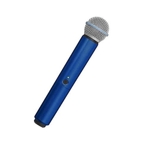 WA713-BLU Color Handle for BLX SM58/BETA58A Microphone : Shur