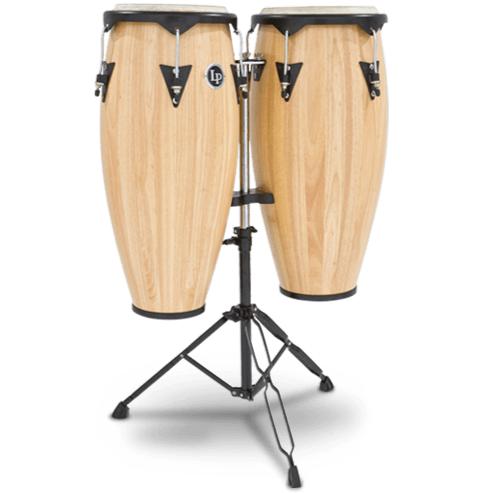 LP646NY-AW City Series Conga Set with Stand : Latin Percussion