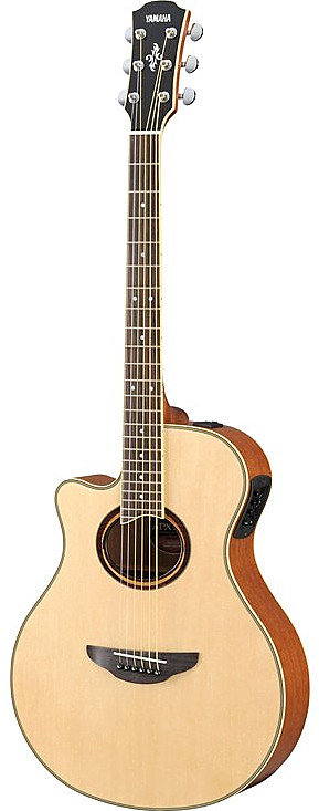 APX700II Acoustic Electric Guitar - Left Handed : Yamaha