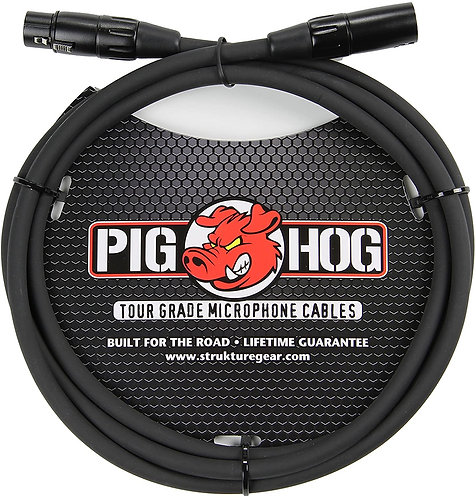 50ft XLR Microphone Cable : PigHog