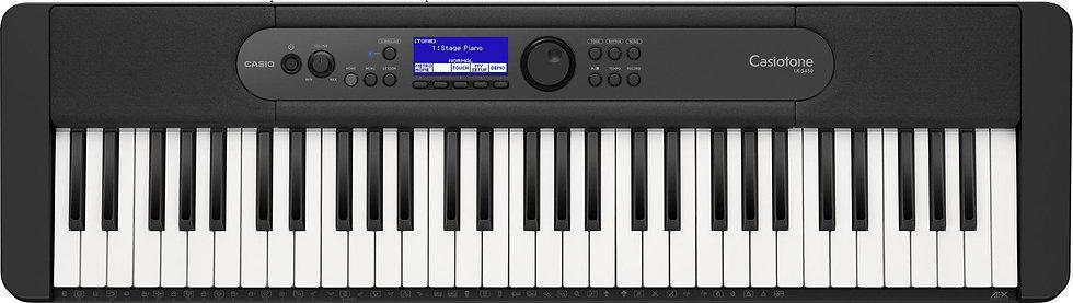 LK-S450 61-key Lighted Keys Arranger Keyboard : Casio