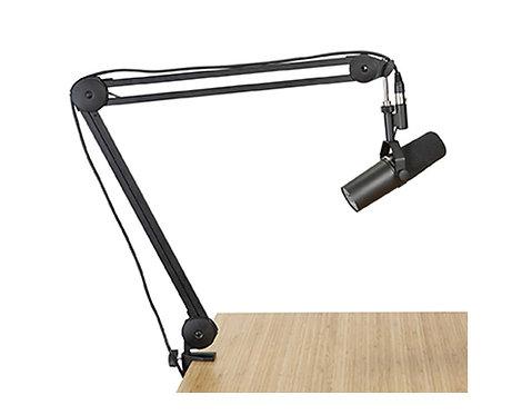 Desk-mounted Broadcast Microphone Boom Arm : Gator