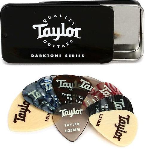 Darktone Series Pick Tin : Taylor