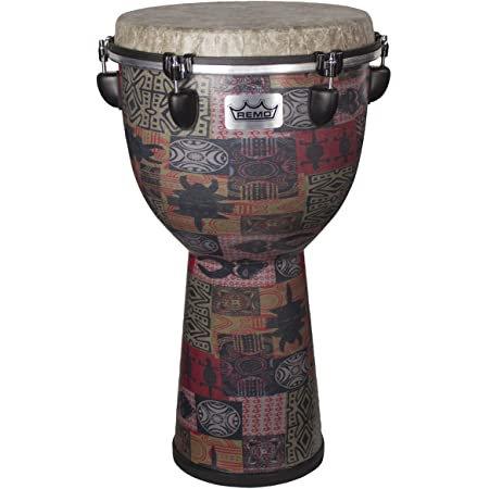 "Djembe Drum - 12"" - Green Kinte : Remo"