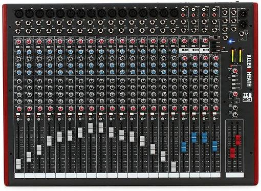 ZED-24 24-channel Mixer with USB Audio Interface : Allen & Heath