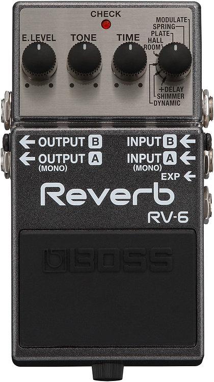 RV-6 Digital Reverb Pedal : BOSS