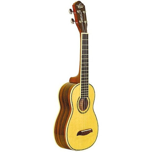 Rosewood Concert Uke With Glossed Spruce Top : Oscar Schmidt