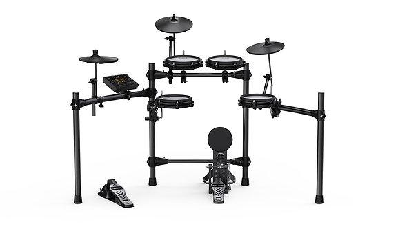 DM-210 5-Peice All Mesh Electronic Drum Set - NUX