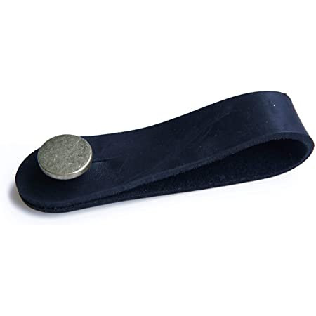 Leather Neck Button Strap : LM
