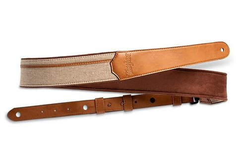 """2.25"""" Vegan Leather Strap - Chocolate Brown Sequin : Taylor"""