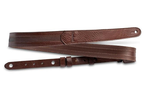 Leather 1.5-inch Guitar Strap - Chocolate Brown w/ Engraving : Taylor