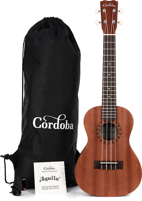 Concert Ukulele Player Pack - Cordoba