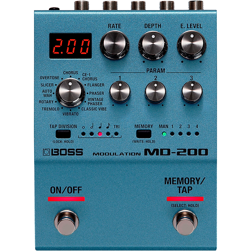 MD-200 Modulation Effects Pedal - BOSS