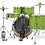 Thumbnail: 5-Piece Complete Kit - Center Stage -  Electric Green Sparkle : PDP