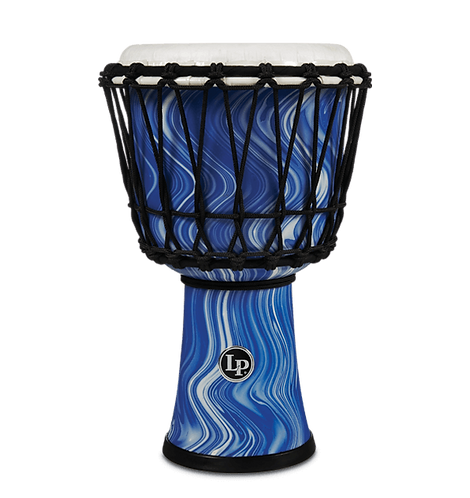 "World 7"" Rope Circle Djembe - Blue Marble - LP"