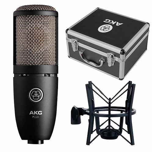 P220 Large-diaphragm Condenser Microphone : AKG
