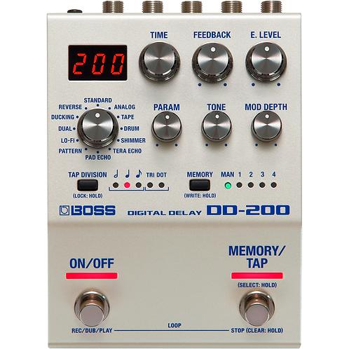 DD-200 Digital Delay Effects Pedal - BOSS