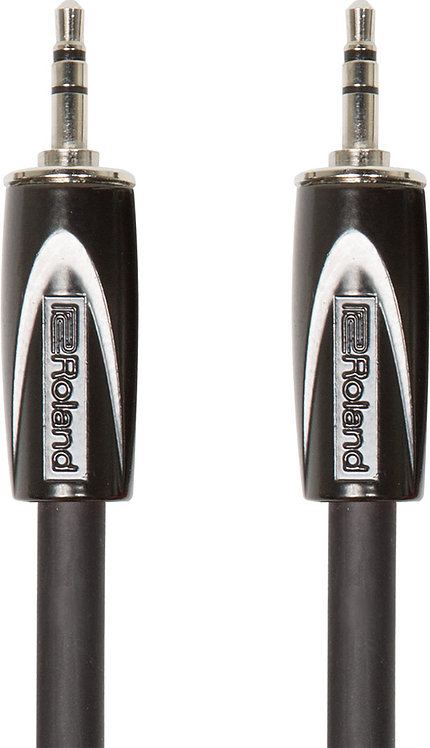 5ft 3.5mm TRS Balanced Interconnect Cable : Roland