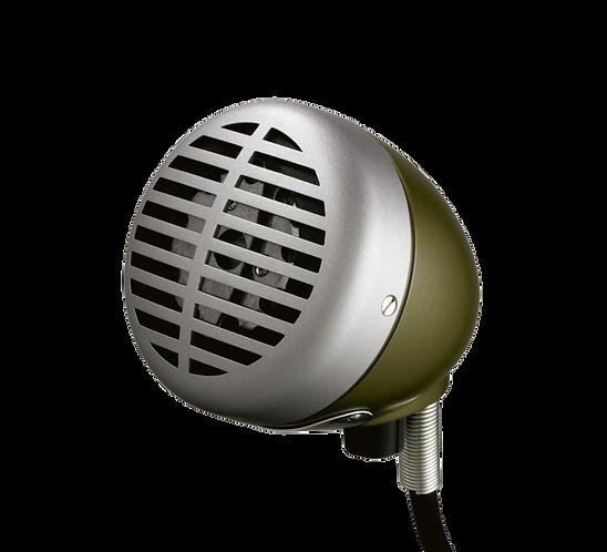 520DX Green Bullet Micophone : Shure