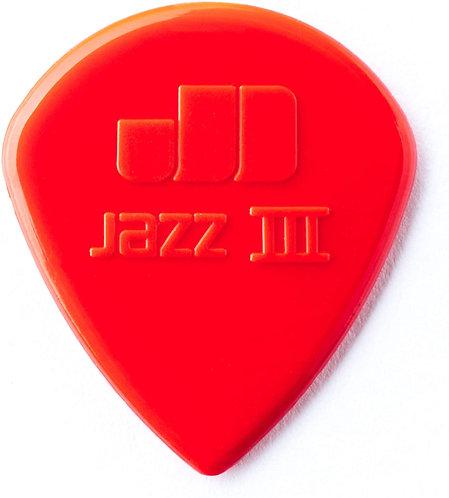47R3N Jazz lll Nylon Pick : Dunlop
