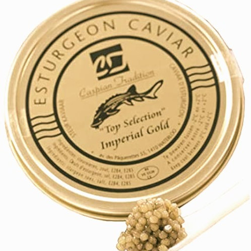 Caviar Imperial Gold 148 € / 100 grs