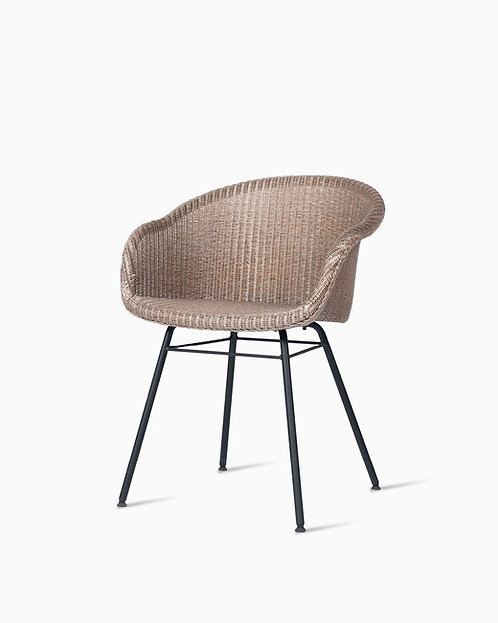 Avril Dining Chair Steel A Base