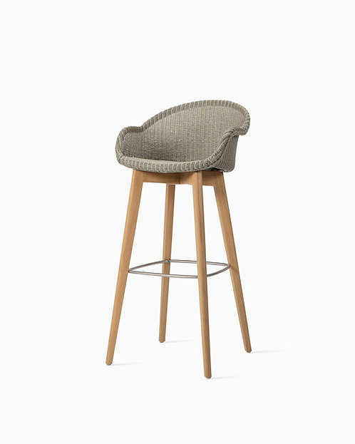 Avril Bar Stool Oak Base
