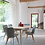 Thumbnail: Lily Dining Chair Oak Base