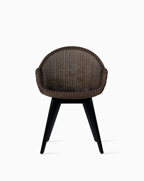 Avril HB Dining Chair Black Wood Base