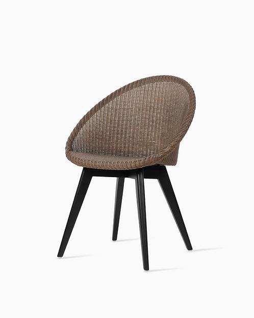 Jack Dining Chair Black Wood Base