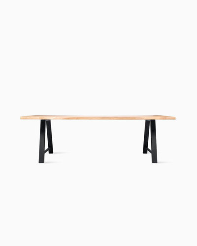 Nora Dining Table Live Edge A Base