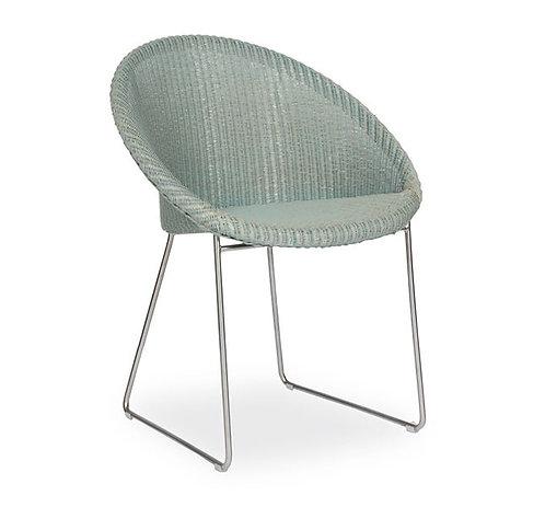 Joe Dining Chair Matt Sled Base