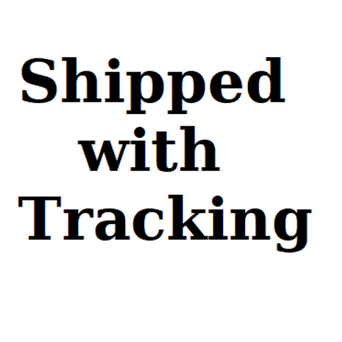 Add this to your cart if you would like a tracking #