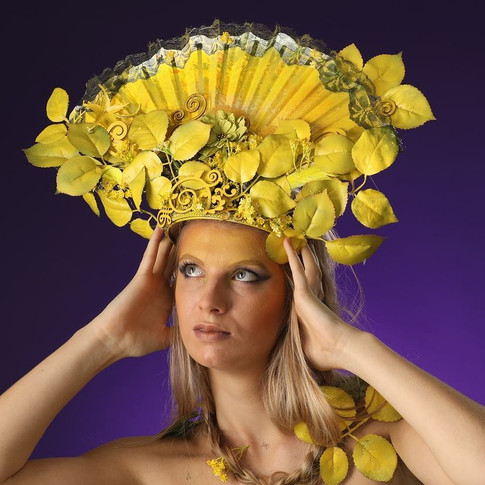 Yellow Flowers, @Claude Fougeirol