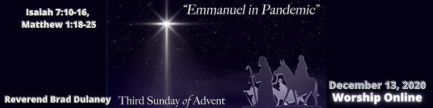 Copy of Third sunday of advent listen we